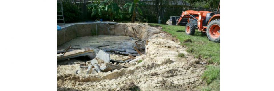 A-Plus Dirt Services also offers all types of pool demolition.